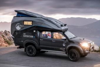 Világ körüli expedícióra ez a jármű a minimum