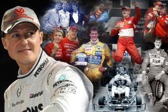 50 éves a legenda, Michael Schumacher
