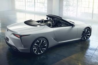Érkezik a Lexus luxuskabriója