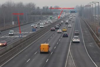 Nahát: nem is működnek az autópályákon lévő régi traffipaxok