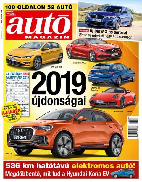 Autó Magazin 2019 január