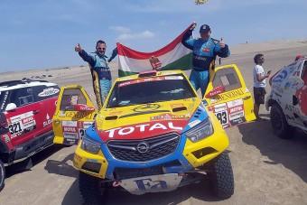 Al-Attijah nyert, Szalay huszadik lett a Dakaron