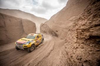 Újabb jó napot zártak Szalayék a Dakaron