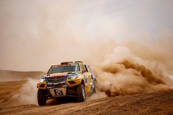 Szalayékat megbüntették a Dakaron