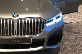 Irdatlan nagy vesékkel jön a frissebb 7-es BMW