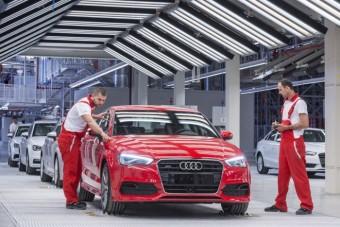 Leáll a győri Audi gyár