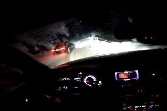 És akkor egy BMW-s és egy audis elment a hegyekbe játszani