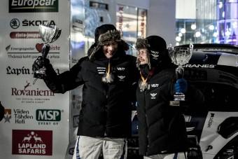 Bottas szakaszt nyert első raliján