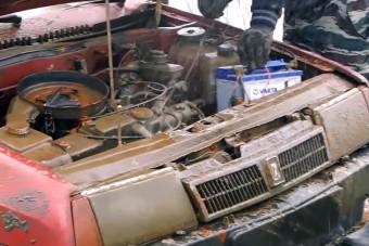 Vajon életre kel a Lada, ami fél évet töltött a víz alatt?