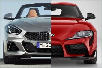 Melyik a gyorsabb: a Toyota Supra vagy a BMW Z4?