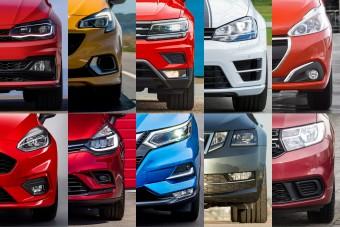 Ezek Európa legnépszerűbb új autói