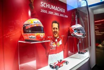 Schumacher kiállítás nyílt a Ferrari Múzeumban