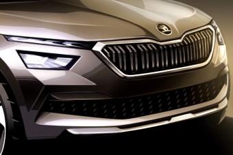 Így néz majd ki a legkisebb Škoda crossover