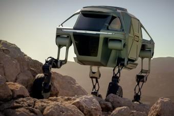 Az autó, ami szó szerint bármin képes átjutni
