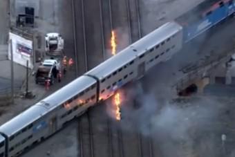 Annyira hideg van Amerikában, hogy begyújtják a vasúti síneket