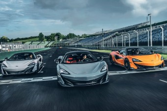 600 lóerős McLarenek vették be a Hungaroringet