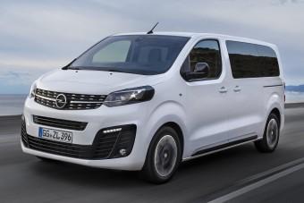 Kisbusszá nőtt az Opel egyterűje