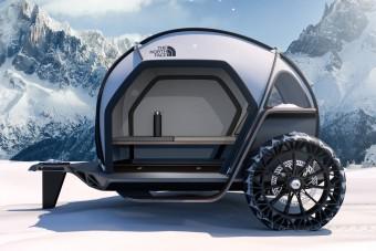 Guruló iglut épített a BMW