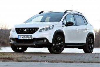Peugeot 2008 teszt - komoly erő a kis testben
