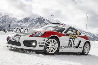 Hóban csapat a leendő rali-Porsche