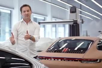 Videón Varga Péter, a Porsche magyar dizájnere