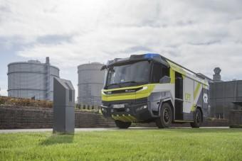 A jövőben ilyen elektromos tűzoltóautók készülhetnek