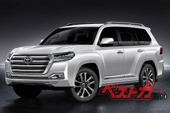 Hibrid lesz az új Toyota Land Cruiser?