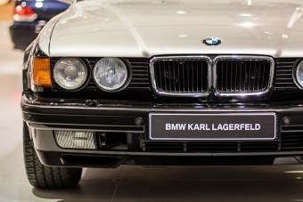 Két egyedi BMW-t is tervezett Karl Lagerfeld