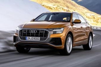 Új motorokat kap az Audi Q8