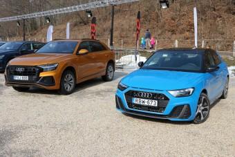 A1 és Q8: az Audi két szélső értéke egy bemutatón