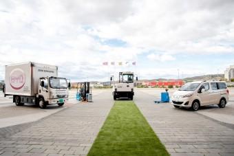 Már elektromos teherautók is készülhetnek Komáromban