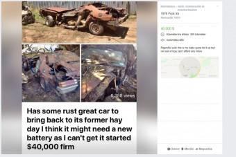 Ömlik az irónia ebből az használt autó hirdetésből