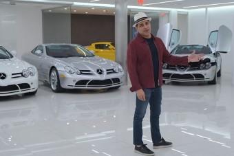 Itt az ember, akinek 5 McLaren Mercedes sem elég