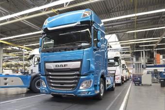 Tovább szünetelteti a gyártást a DAF