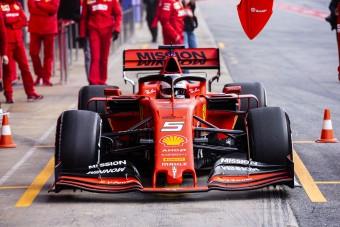F1: Ütősen mutatkozott be az új Ferrari