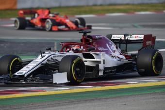 F1: Óriágaléria az első tesztnapról