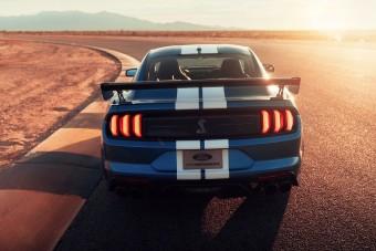 Bitang módon üvölt a méregerős Shelby Mustang