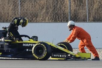 F1: A Renault csúcsot futott, majd lerobbant