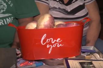 Tulipán helyett tarlórépát kapott Valentin-napra a feleség, de nem bánta