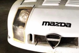 Előkerült a Mazda rég elfeledett Le Mans-i versenyautója