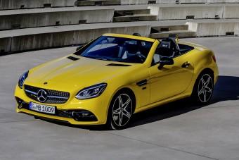 Vidám napocskaként búcsúzik a Mercedes kompakt roadstere
