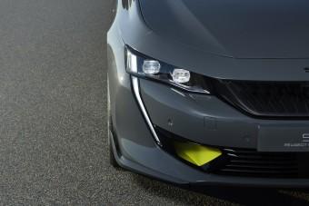 Erősebb, dögösebb a Peugeot hibrid sportszedán-tanulmánya