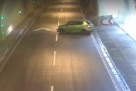Életveszélyes verseny az M3-as kivezetőn Budapesten 1