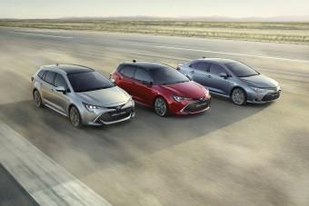 Trióval támad az új Toyota Corolla