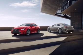 Itthon is kapható már a Lexus RC frissített változata