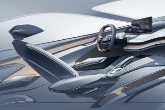 Futurisztikus műszerfalat ígér az elektromos Škoda