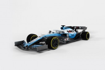 F1: A festés után az új autót is megmutatta a Williams