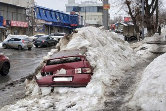 Szomorú dolog került elő az olvadó hó alól Oroszországban