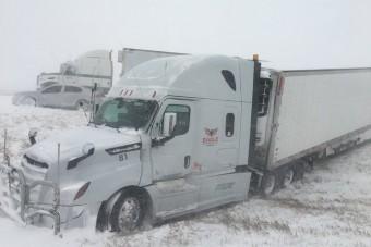 Rengeteg baleset történt a hideg miatt Amerikában