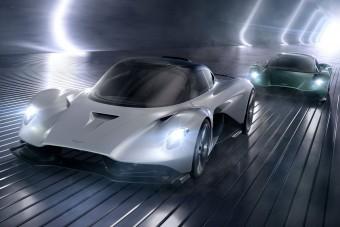 Olyat épít az Aston Martin, amit még soha